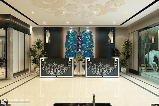 新中式的优雅贵气丨天弘酒店