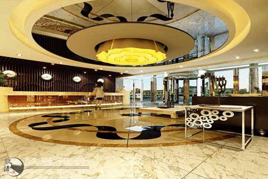 昆仑假日酒店乐天堂国际欢迎你案例,暖色fun88官网真人体育感温馨